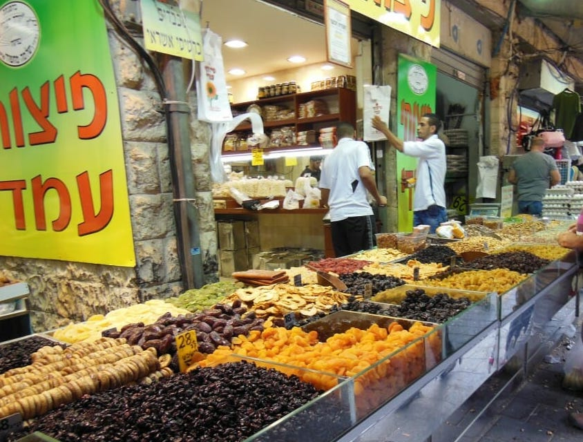 Our final interview in Israel will be filmed at Machane Yehuda market in Jerusalem
