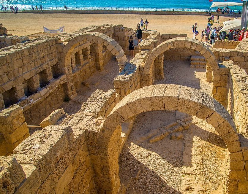 Several interviews will be conducted at local sites such as Caesarea National Park